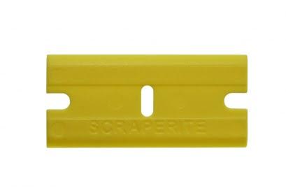 Scraperite Big Gripper mes geel