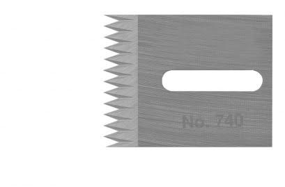 Lemmet tandmes Einnut No. 740